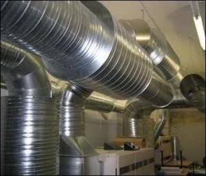 Приточная вентиляция помещений